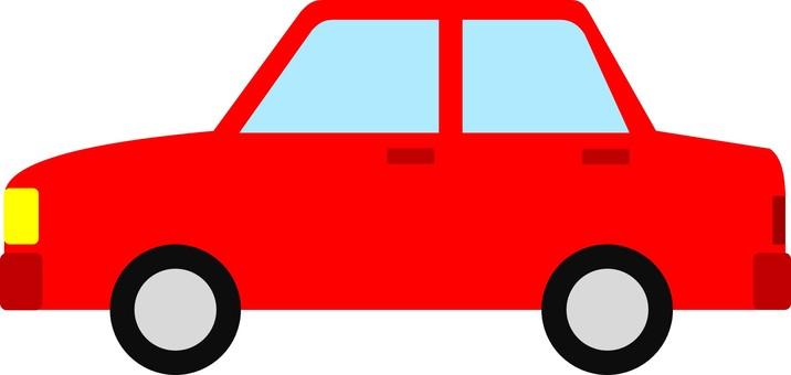 Automobile sedan ①