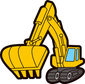 Excavator Car_Yellow