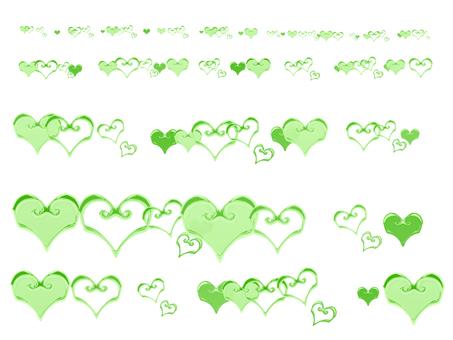 Heart Parts (Green)