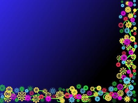 Flower bulletin board (2169)