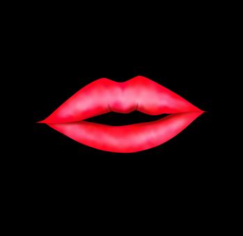 A kiss mark