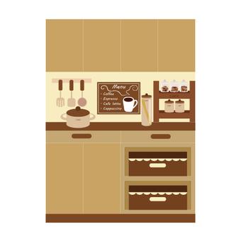 Cafe-style kitchen