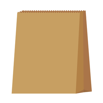 Paper bag small (craft)