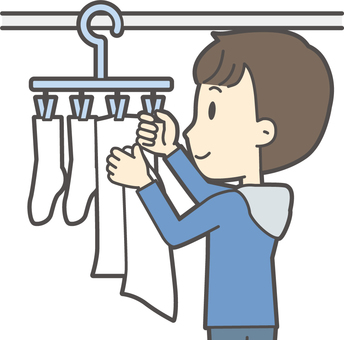 Junior high school boy's plain clothes -292-bust