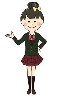High school girl 2-1