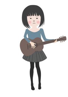 기타 치는 소녀 2