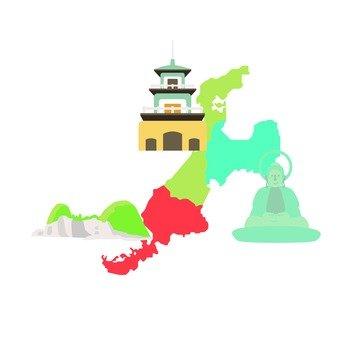 Tourism · Hokuriku 3 prefectures