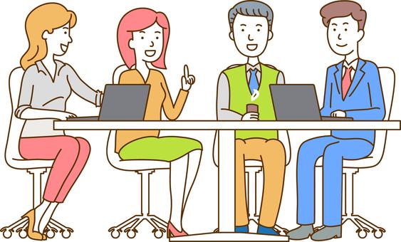 Meeting / businessman