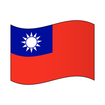 Taiwanese flag / flapping