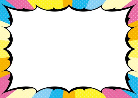 Amekomi style dot background 2