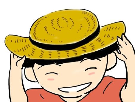 Straw hat girl