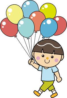 男孩15_06(步行/氣球)