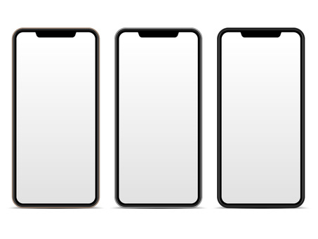 Smartphone front set / illustration