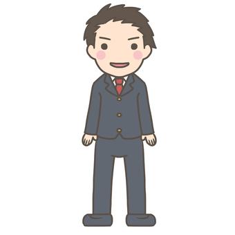 Formal dress man