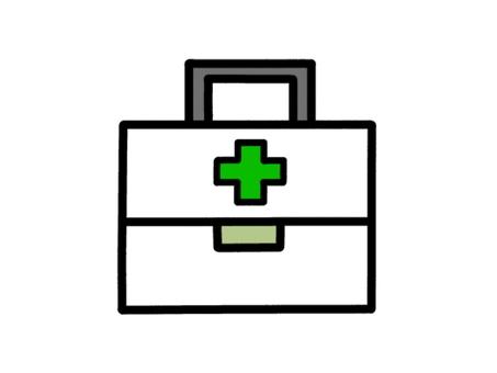 救急箱 白