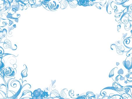 Frame light blue 3