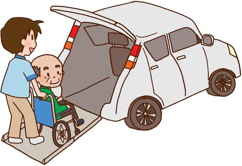 [Rehabilitation] Welfare vehicles, shuttle cars,