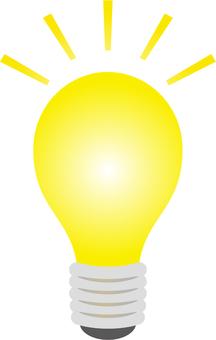 Light bulb illustration Fuchinashi
