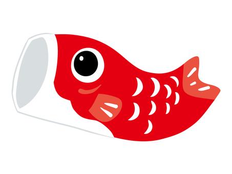 Carp streamer red