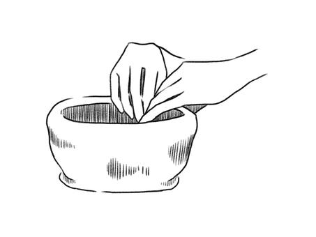 도예 (손 び ね り)
