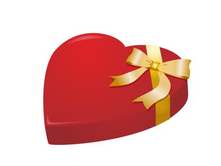 Heart's present box