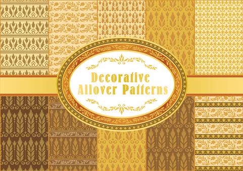 Seamless pattern ethnic pattern 01