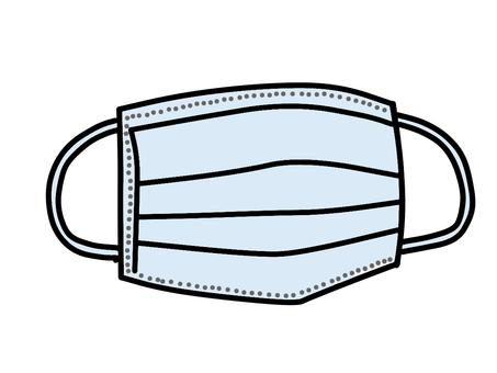 Disposable mask (blue)
