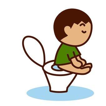A boy toilet