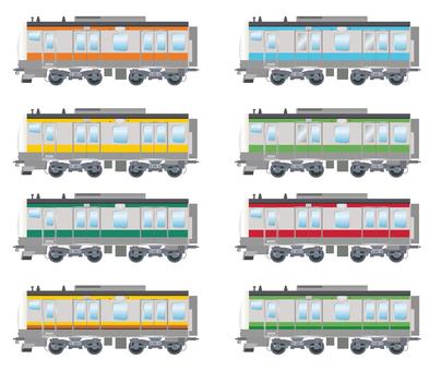 Commuter train E233 series
