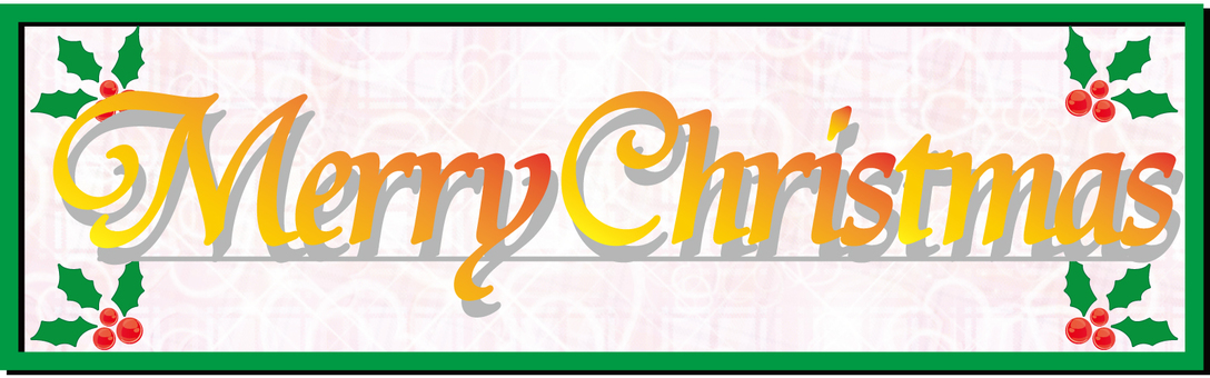 Merry Christmas Logo 03