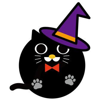 ハロウィン07_16(黒猫)