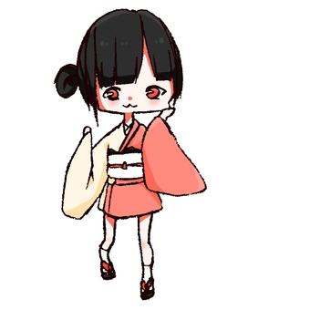 Mini yukata