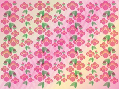 Plum blossoms material 003