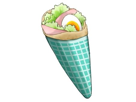 Crepe (salad)