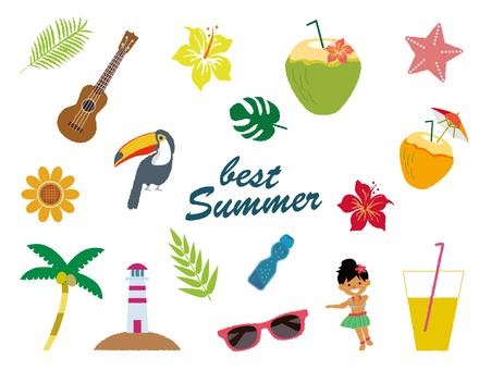 Summer material