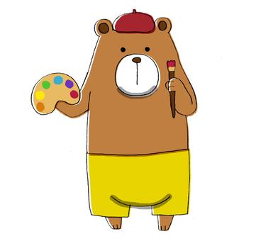 Bear of art