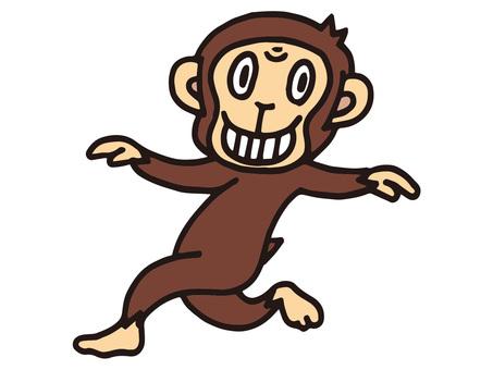 원숭이 춤