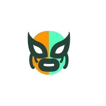 Wrestling mask 3