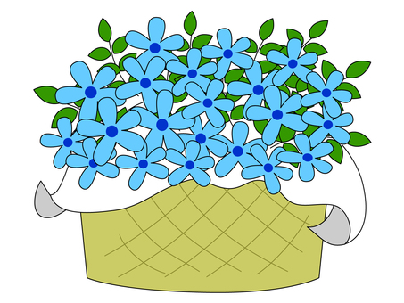 Blue Star ~ Bouquet / Flower Gift