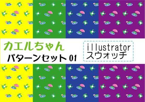 Frog chan pattern 01