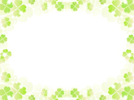 Clover decorative frame 7