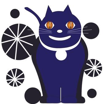 Smiling cat 1 200 × 200 mm