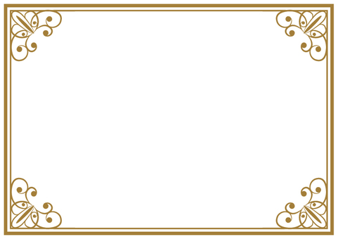 Elegant frame 005
