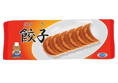 Frozen food (dumplings)