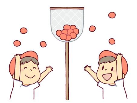 運動會(球插入)