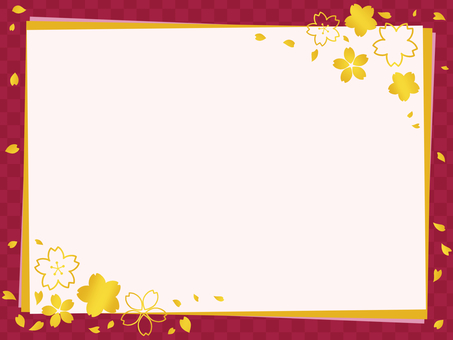 Japanese style message card