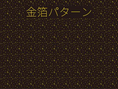 Gold foil pattern