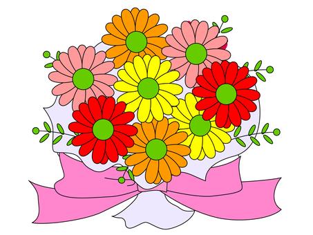 Gerbera ~ bouquet ・ flower gift