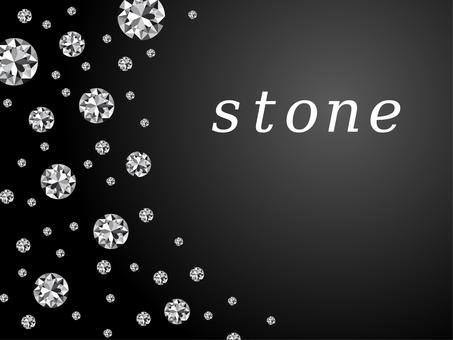 Glitter gem diamond luxury black background