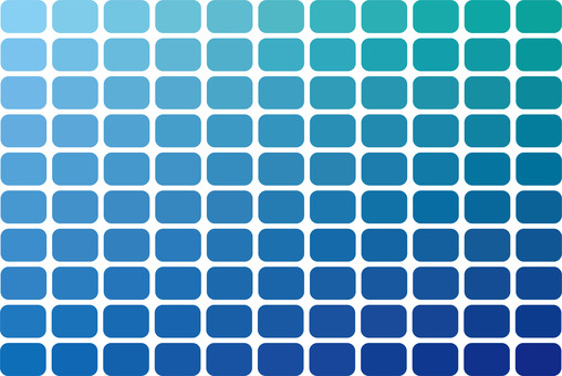 Color chart blue